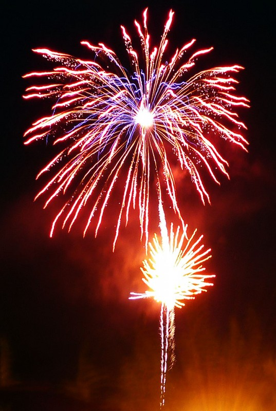 ashland oregon fireworks display best viewing places