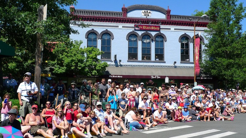 black sheep ashland oregon fourth of july parade