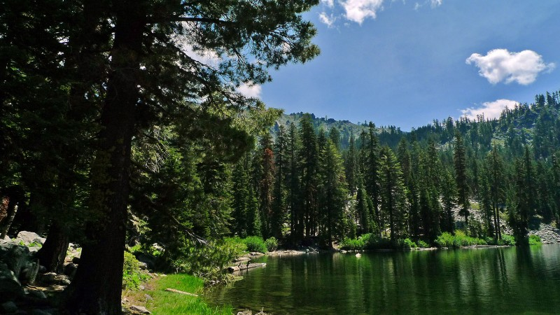 trinity alps california trail gulch lake