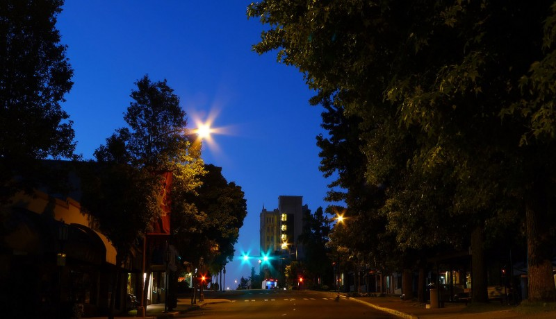 before dawn night photography