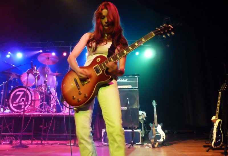 led zepplin female cover band