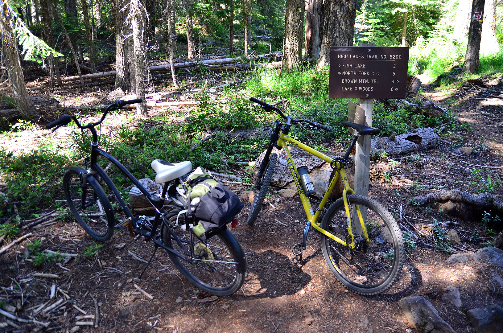Bike Pacific Crest Trail Bikes at the Pacific Crest