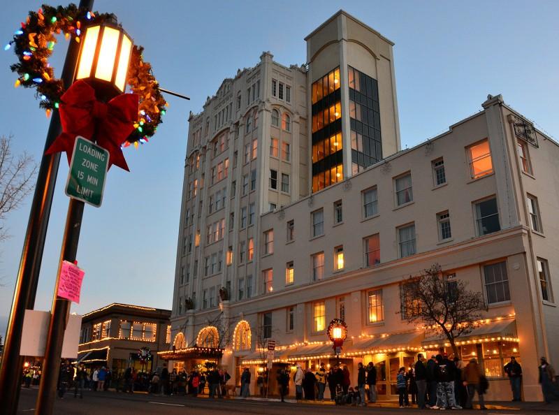 ashland springs hotel christmas time