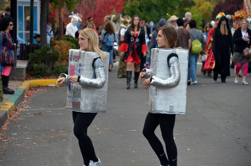 robot costume halloween ideas