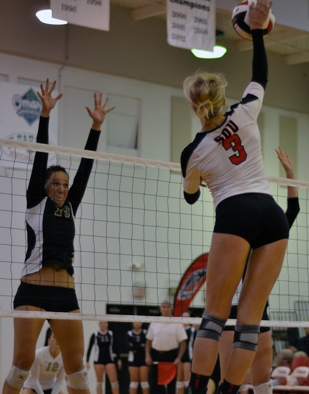 southern oregon university raiders volleyball