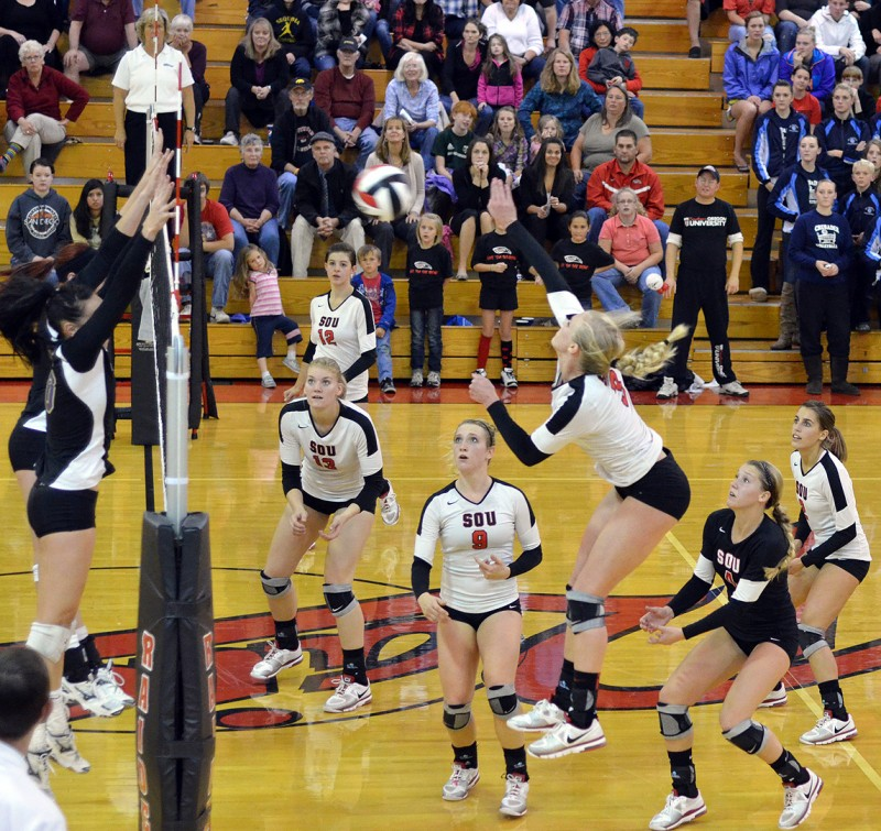 female women's volleyball