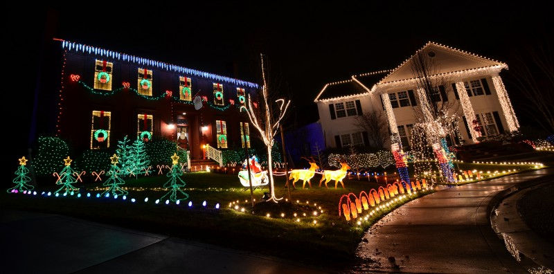 christmas lights fancy display medford oregon rogue valley