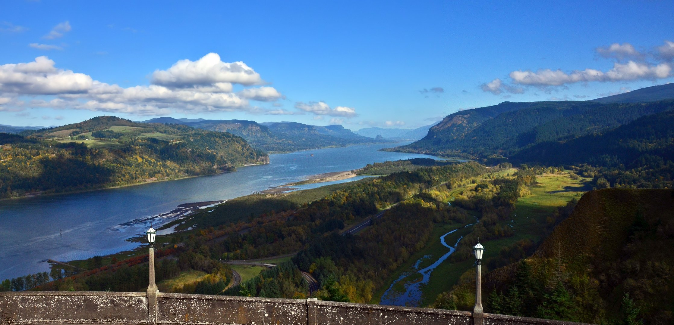 Columbia River Gorge bike ride week « Ashland Daily Photo