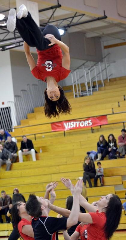 sou cheer leaders cheerleaders college
