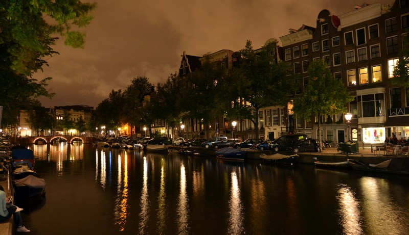 amsterdam holland after dark night photography