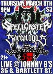 johnny bs medford oregon spellcaster Sarcalogos Occisor