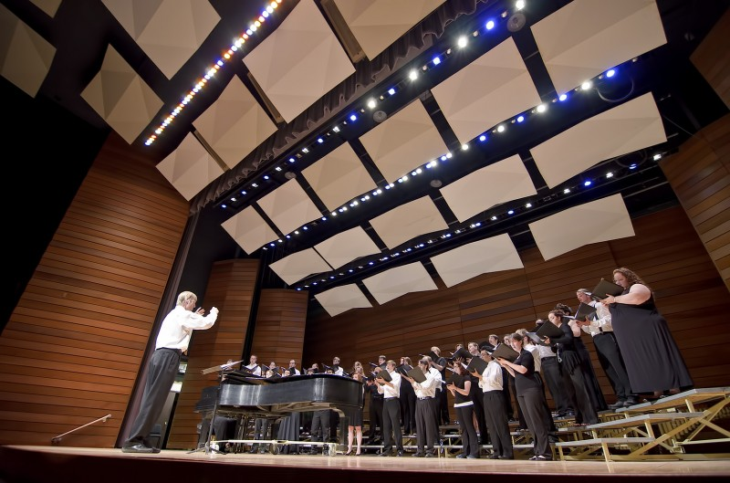 southern oregon university SOAR chamber choir music recital hall campus
