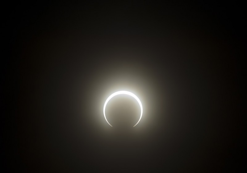 eclipse as seen from southern oregon