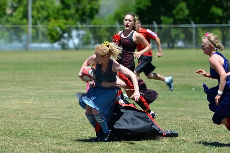 southern oregon university girl on girl wrestling tackle