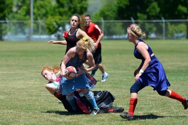 action sports girls ladies women