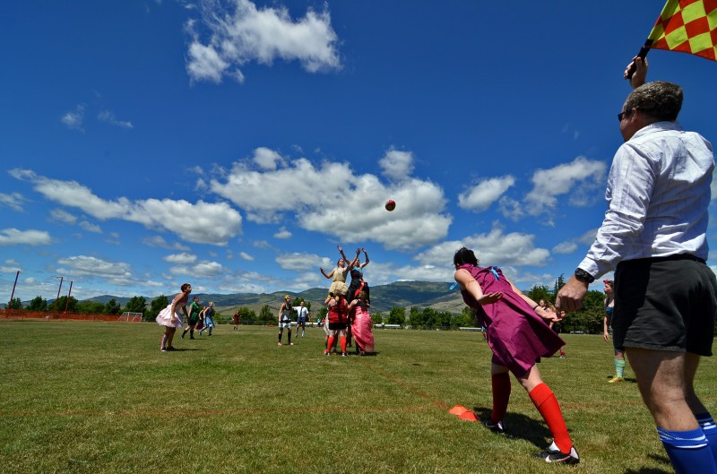 wide angle rugby football photography