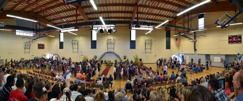 gym ashland middle school commencement graduation 2012 class of 2016