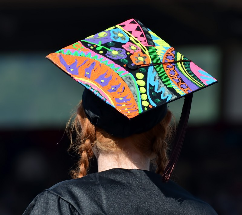 graduation hat decoration ideas