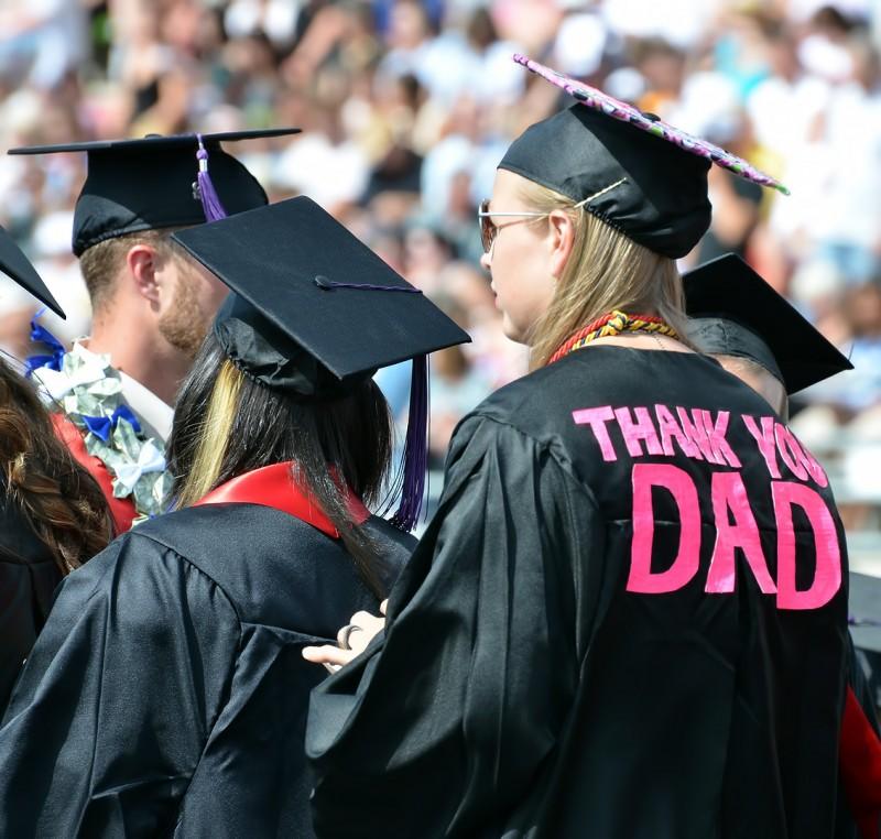 messages on grad caps hats graduation