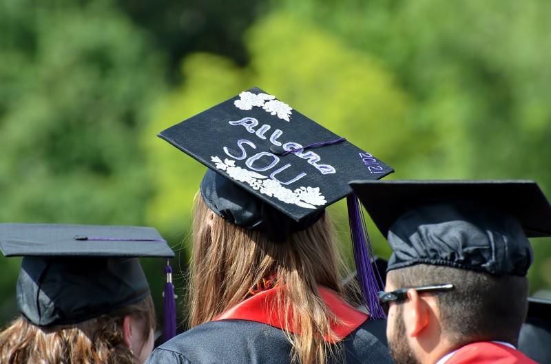 grad cap name