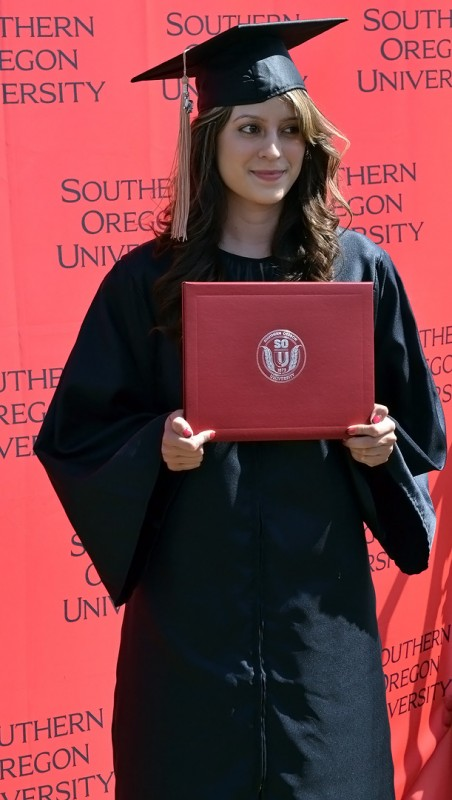 southern oregon university students Lucero Murillo