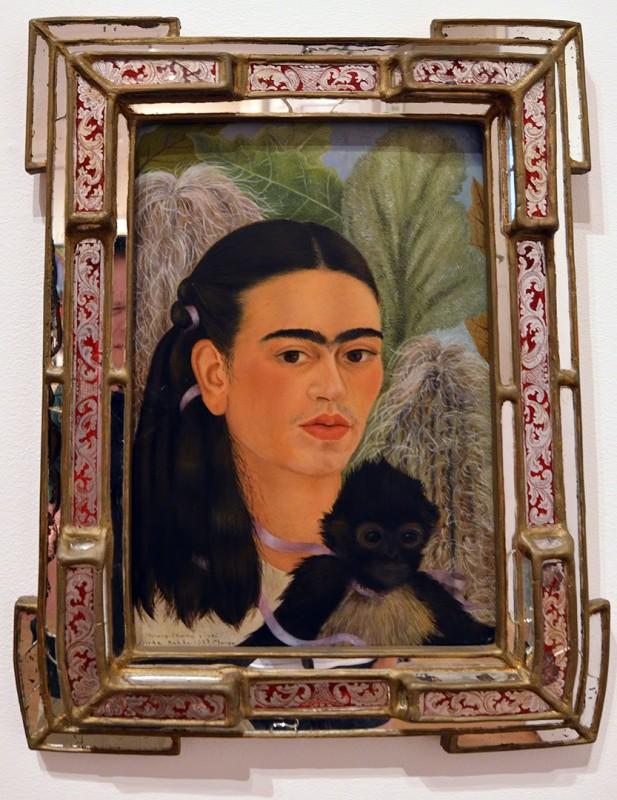 Frida Kahlo mexican artist self portrait museum of modern art new york city