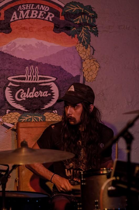 Andrew Grosse drums billions pdx live concert pics