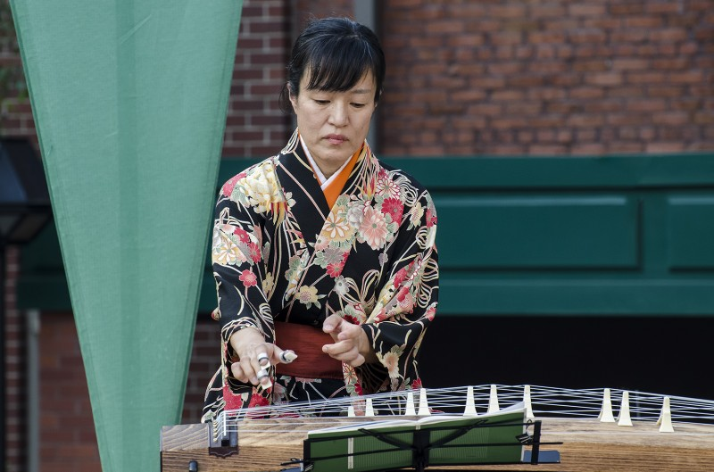 oregon shakespeare festival green show japan koto eugene ashland