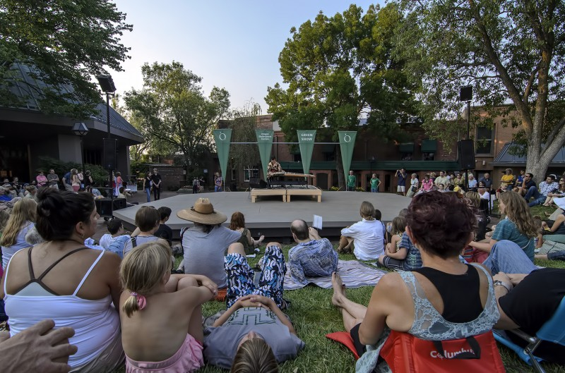oregon shakespeare festival free green show ashland