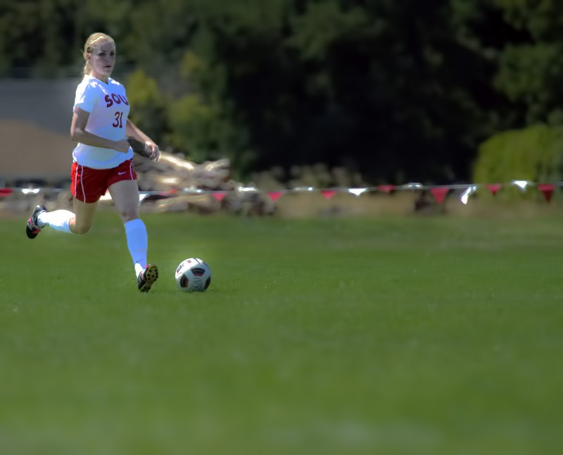 southern oregon university soccer women's dreamy photography Alyssa Bricker
