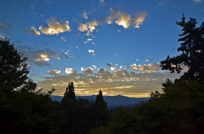 ashland oregon sunrise