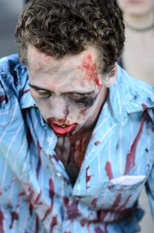 ashland halloween parade zombie walk blood costume ideas