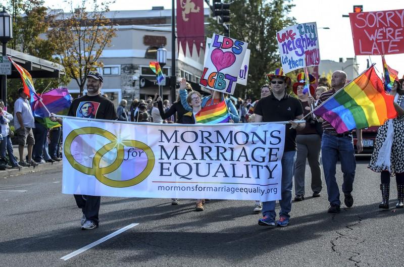 lds mormon church gay marriage gay pride rainbow flag