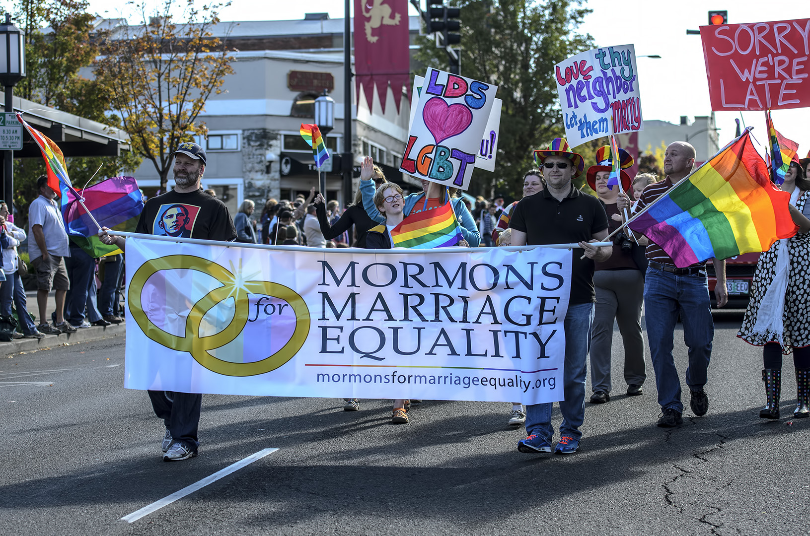 from Dillon oregon and gay marriage