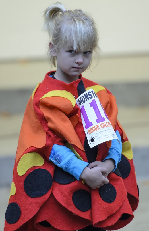 under 5 years old costume contest winner