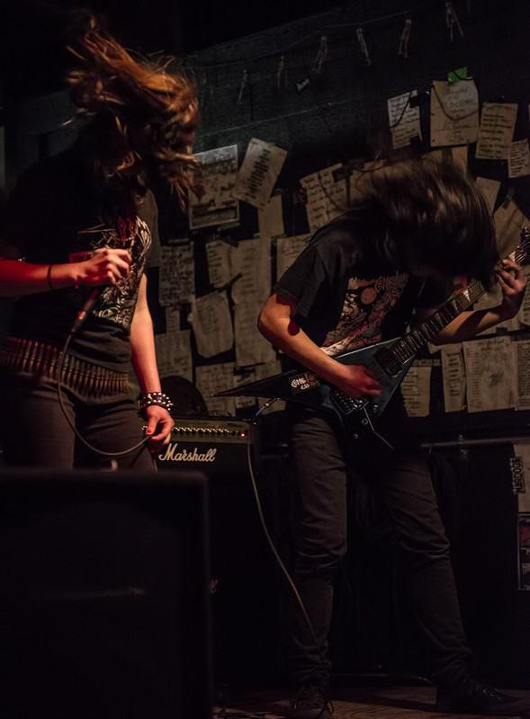 Witch Cult metal oregon band Blaspherion Necrokult guitar vocals Lilith