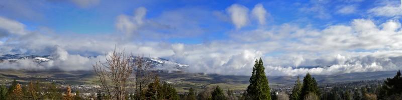 ashland oregon panorama photomerge
