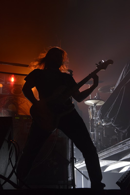 Carl Parnell bassist sylosis medford oregon armory