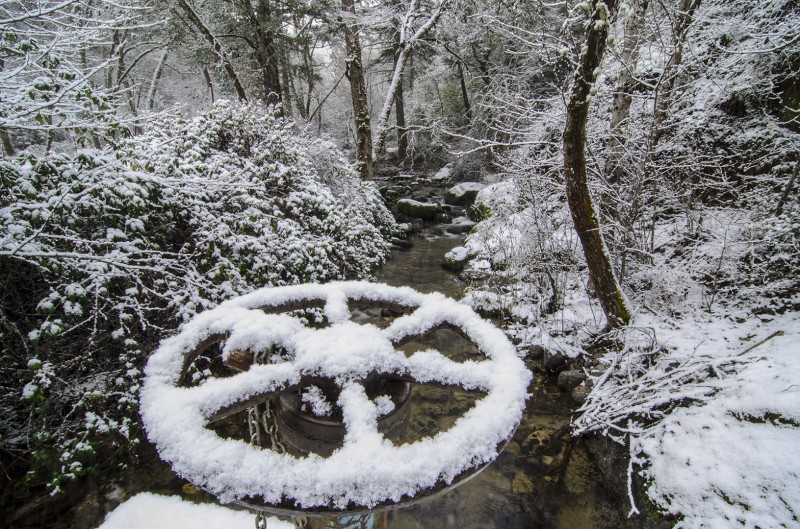 snow wheel lithia park
