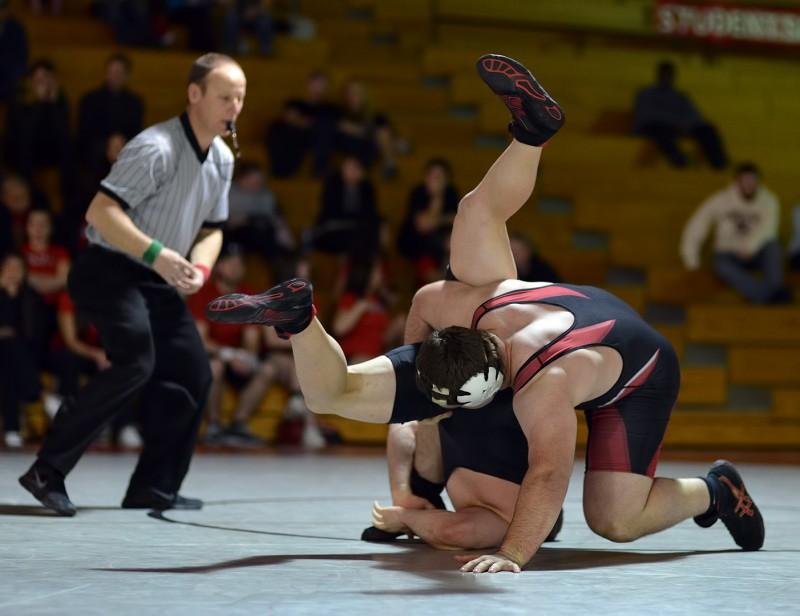 SOU wrestling Austin Lobsinger Hank Turner