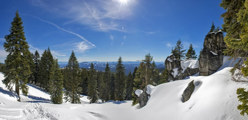 photomerge from mt ashland