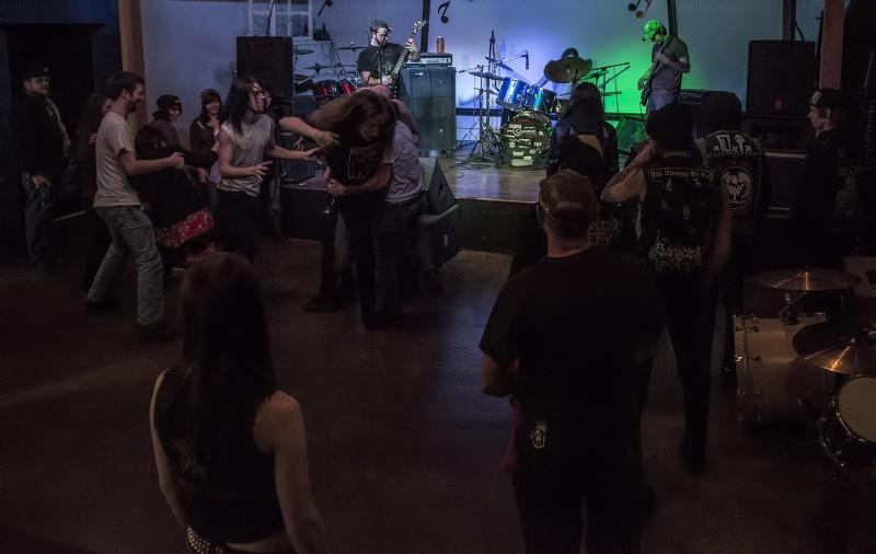 infernal throne mosh pit slam dancing club 66