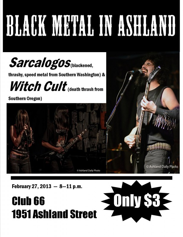 club 66 flyer witch cult sarcalogos