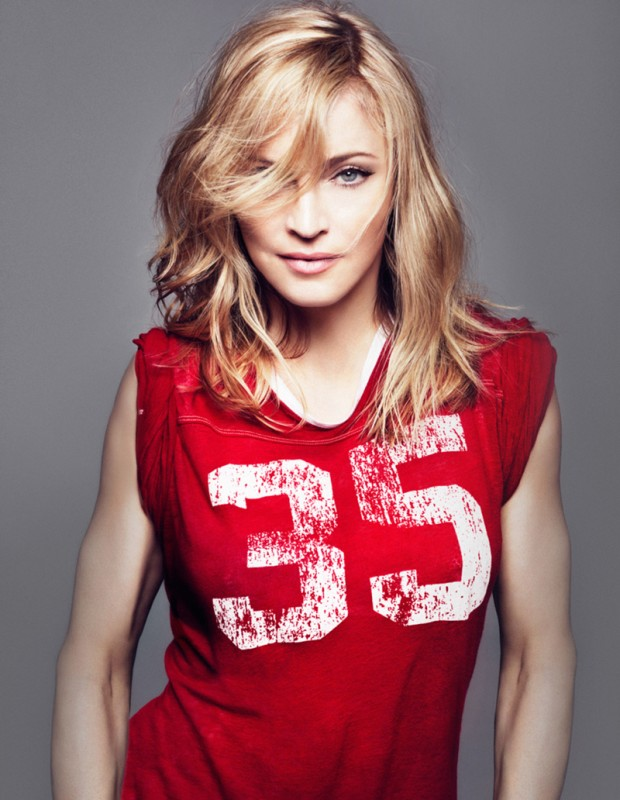 Madonna sports jersey
