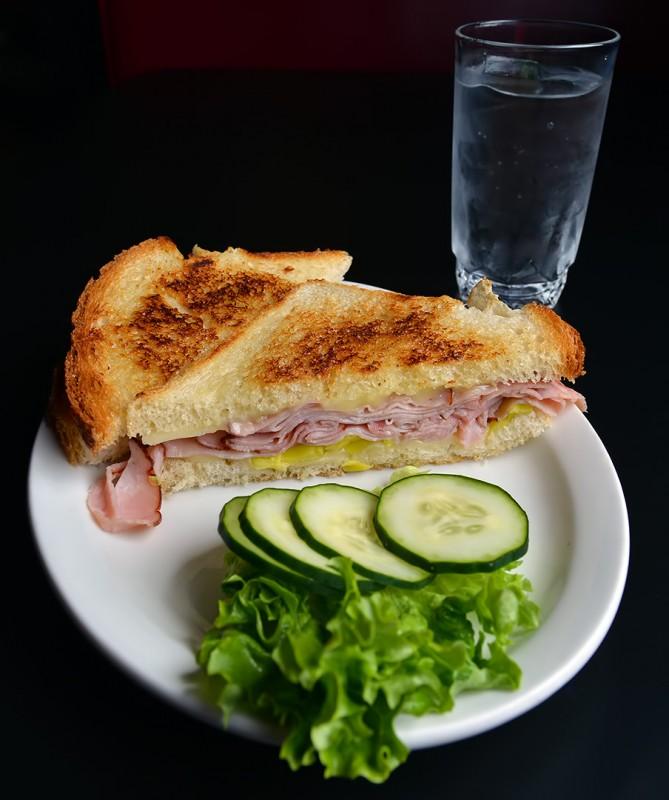 club 66 ham sandwich pepperoncini peperoncini cheese menu