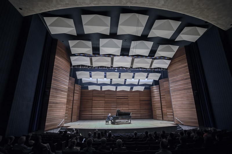 Nic Temple SOU music recital hall