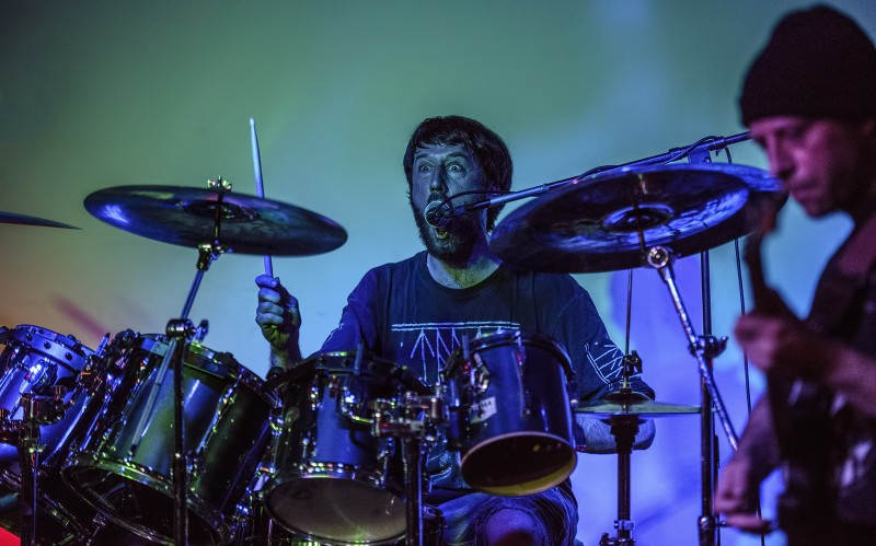 Harland Burkhart drummer wild hunt club 66 Drew Cook