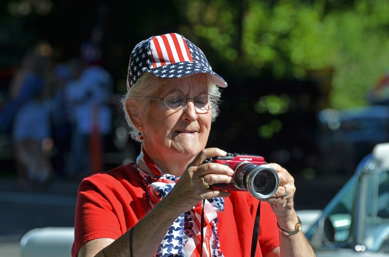 patriotic photographer grandma ashland 4th of July parade 2012 2013