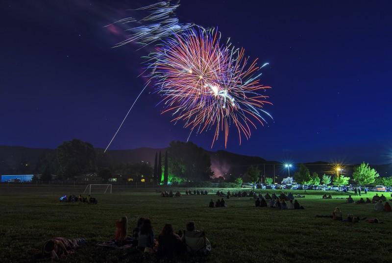 4th july fireworks ashland middle school