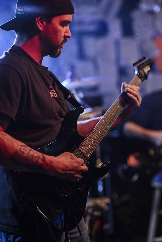 Greg George Crimson Guardian Musichead
